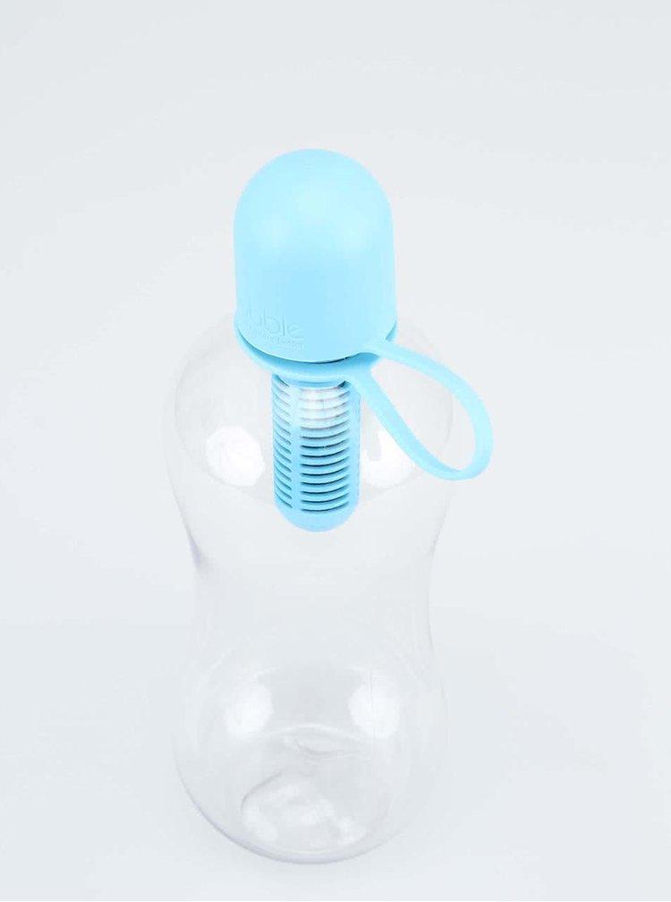 Sticla de apa cu filtru Bobble albastra, pentru copii