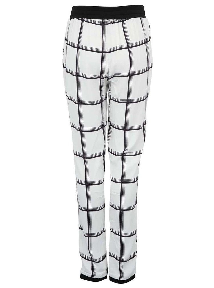 Bílé volnější kalhoty se vzorem Y.A.S Ginny