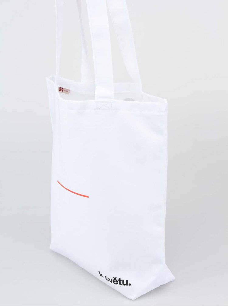 """""""Dobrá"""" unisex taška K světu."""