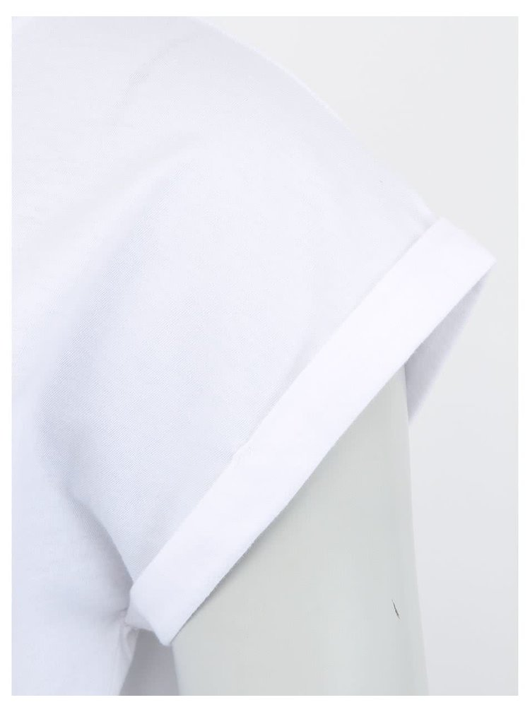 """""""Dobré"""" dámske biele tričko Containall"""