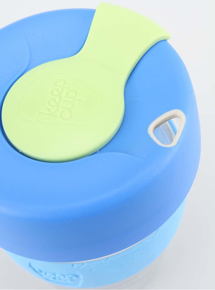 Dizajnový cestovný sklenený hrnček KeepCup Brew Base Medium