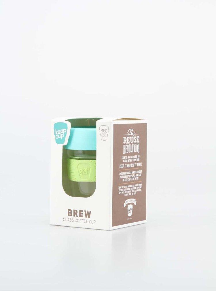 Designový cestovní skleněný hrnek KeepCup Brew Magic Medium