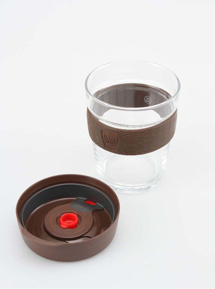 Dizajnový cestovný sklenený hrnček KeepCup Brew Stone Medium