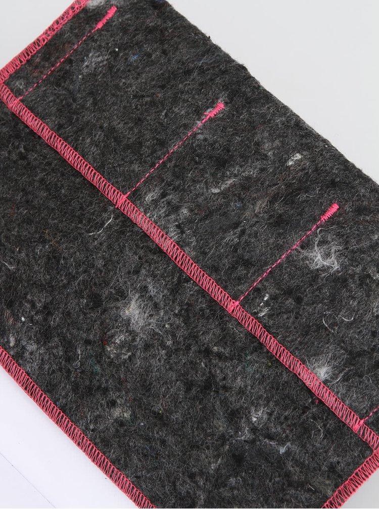 """""""Dobrý"""" zápisník FOREWEAR s růžovou gumou"""