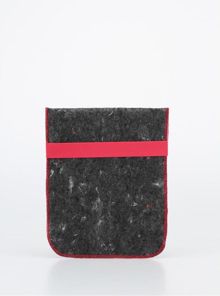 """""""Dobrý"""" obal na tablet FOREWEAR s růžovou gumou"""