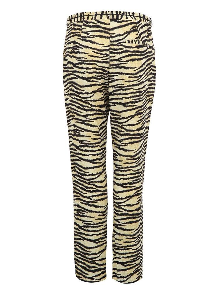 Pantaloni cu imprimeu tigrat pentru femei Maison Scotch