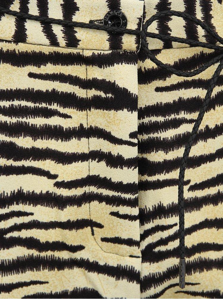 Dámske tygrie nohavice Maison Scotch