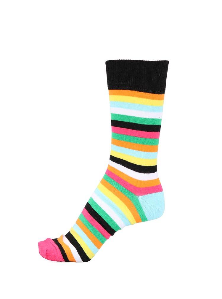 Sada tří unisex barevných pruhovaných ponožek Oddsocks Brian