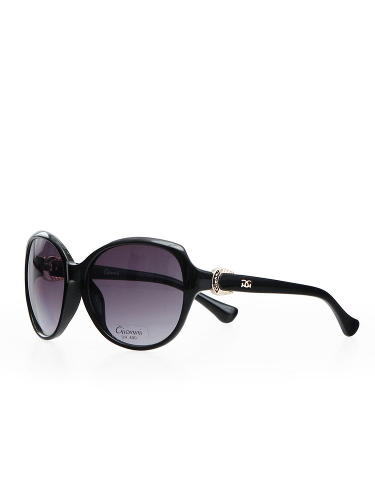 Ochelari de soare eleganti Gionni pentru femei - negru