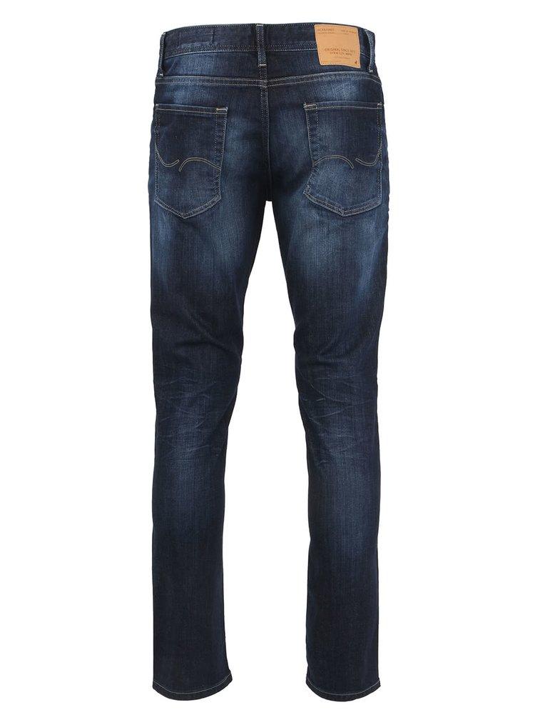 Modré pánské džíny Jack & Jones Ben Original