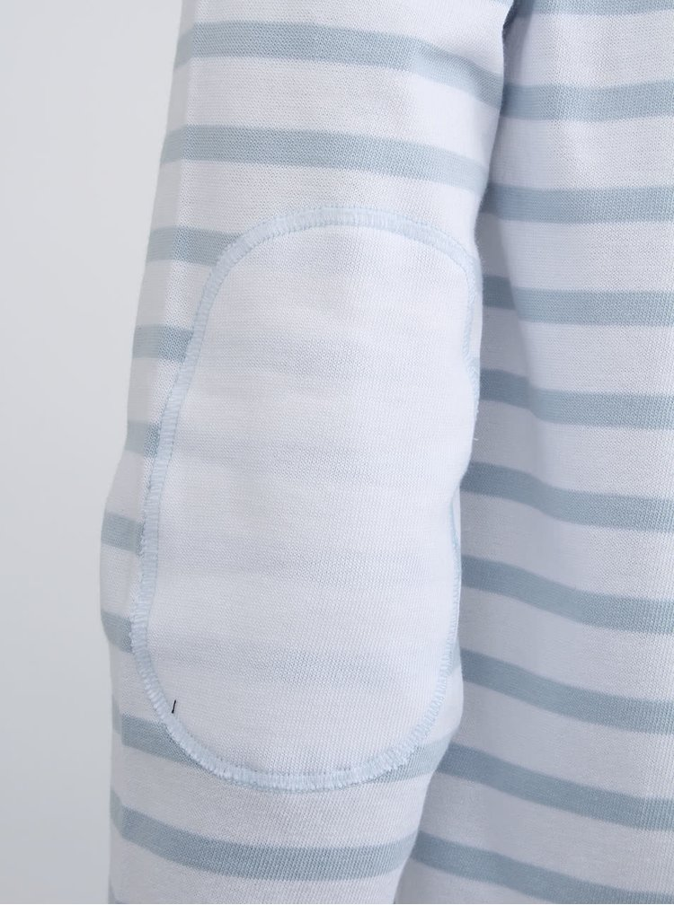 Bílý pánský svetr s lebkou Mr Marcel Tinavy