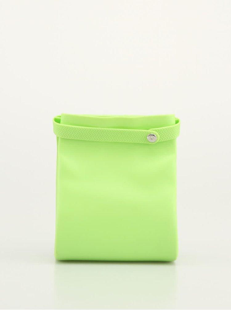 Zelený silikonový pytlík na svačinu Compleat Foodbag