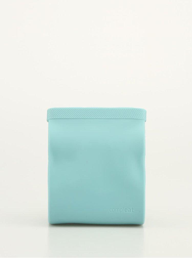 Mentolové silikónové vrecko na desiatu Compleat Foodbag