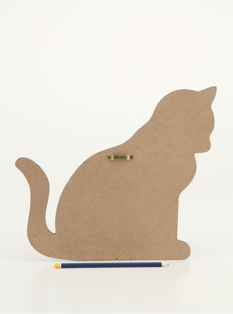 Tabla pentru scris Sass & Belle Cat in forma de pisica