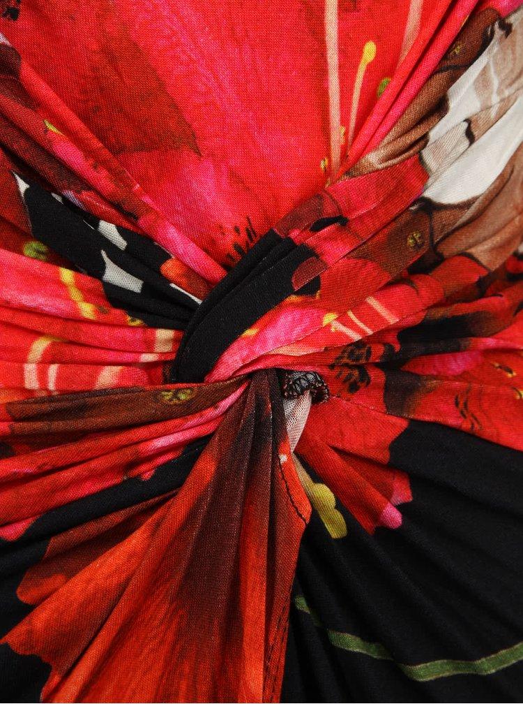 Rochie roșie Desigual Uralet