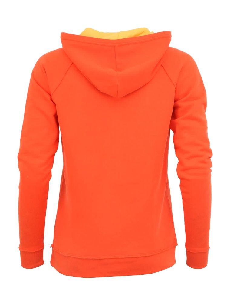 Oranžová mikina Little Marcel Softy