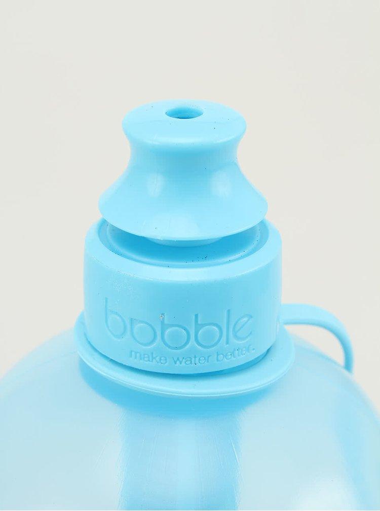 Modrá přenosná filtrační 0,7 l láhev bobble Sport