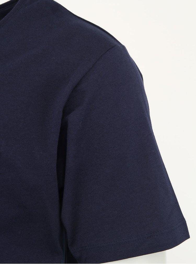 Tmavě modré tričko Selected Homme Dave