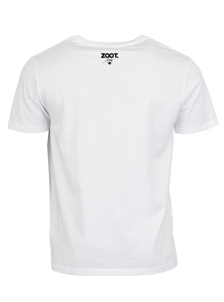 """Pánské bílé """"dobré"""" triko Ani Geislerové pro Vánoční bazar"""