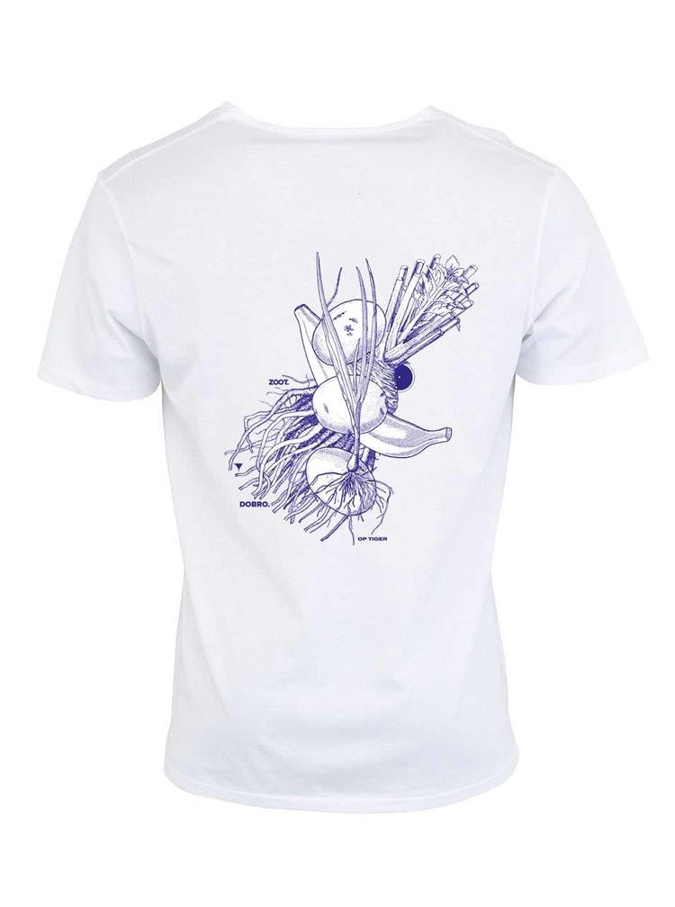 """Pánske biele tričko """"Dobrá úroda"""" Zelenina"""