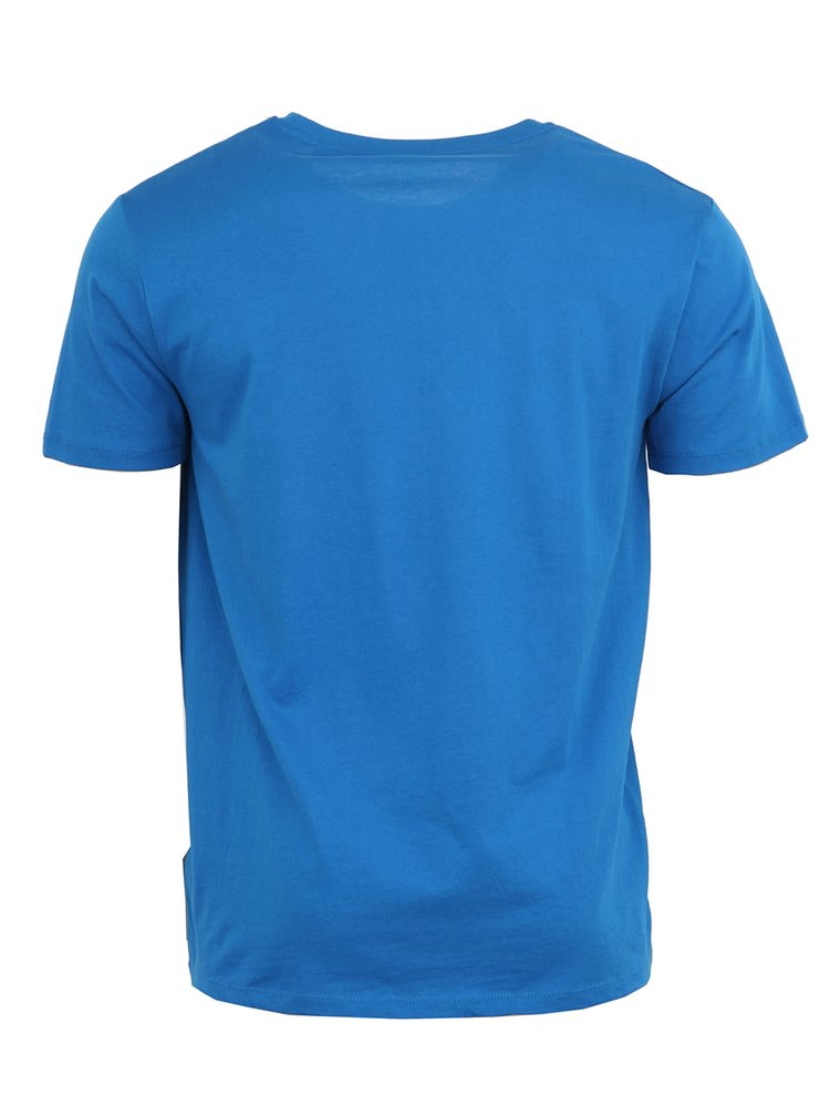 Modré pánske tričko Stanley & Stella Leads