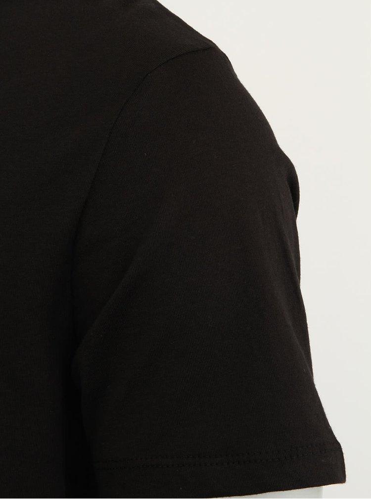 Černé pánské tričko Stanley & Stella Expects