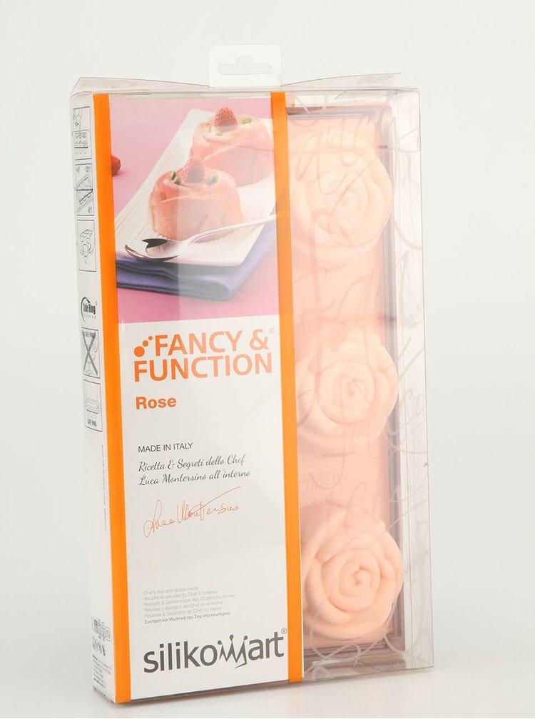 Forme din silicon cu trandafiri Silikomart