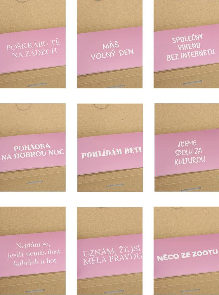 Šeková knížka splněných přání ZOOT Originál pro ženy