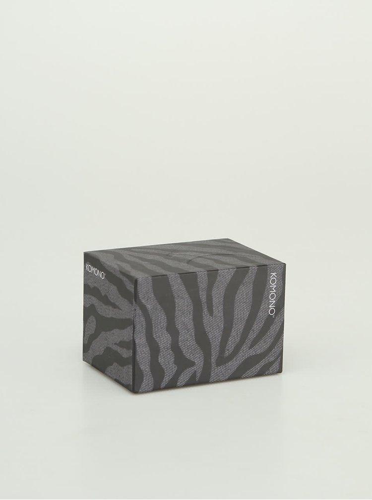 Hodinky Komono Wizard Print Denim Zebra