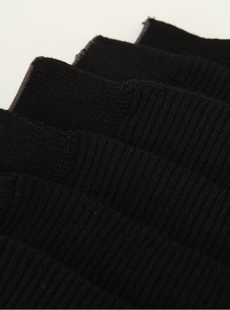 Set de trei perechi de șosete negre Selected Homme