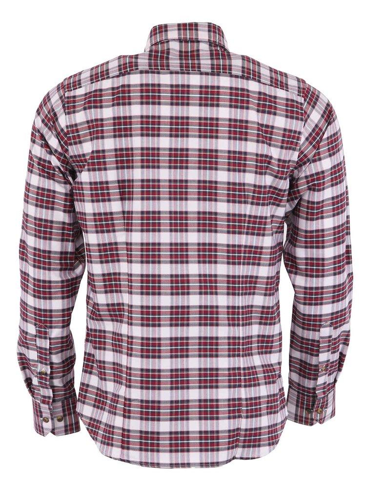 Kockovaná košeľa Bertoni Slim Fit