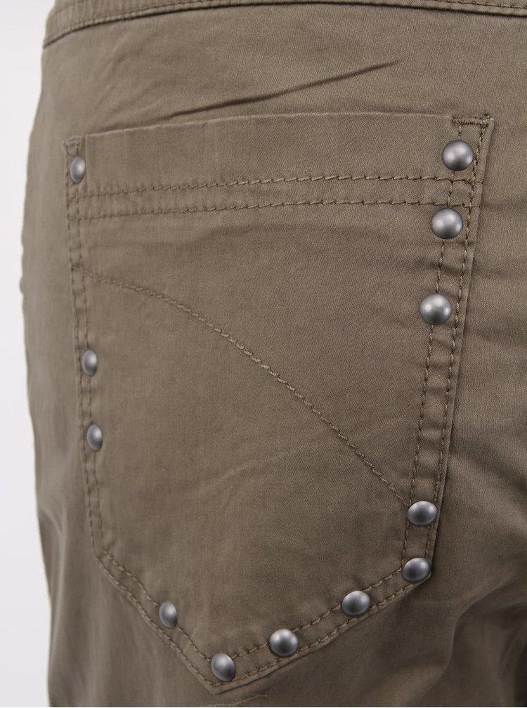 Khaki kalhoty b.young Parma