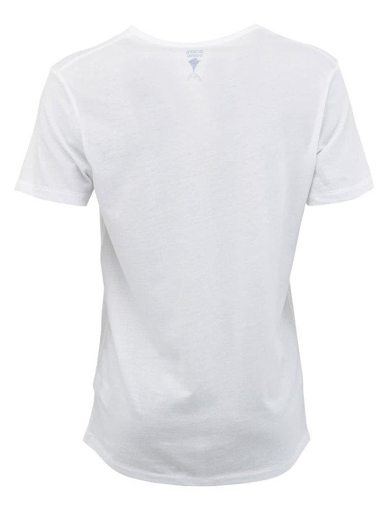 """Pánské bílé tričko """"Dobrá úroda"""" Petržel"""