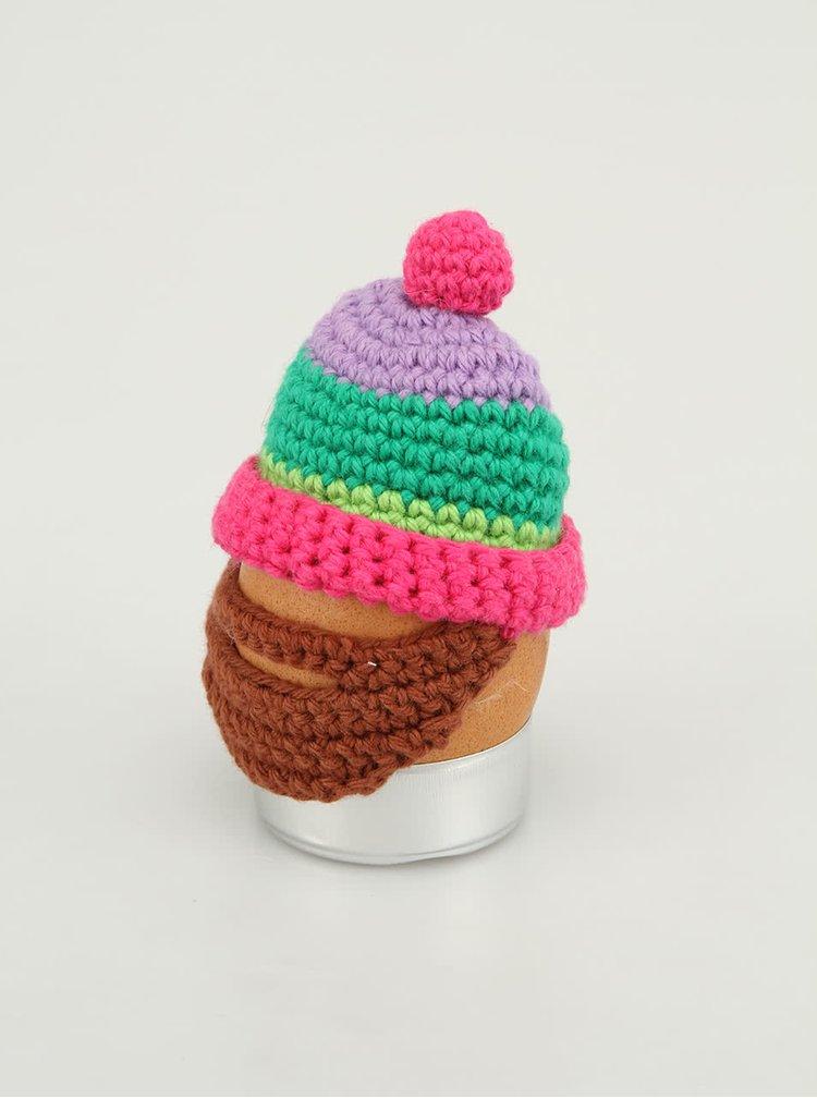 Căciuliță tricotată Donkey Eggster pentru ouă