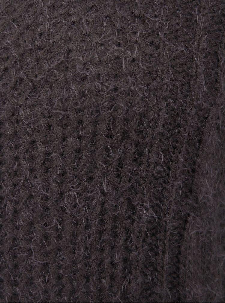 Tmavě šedý svetr b.young Esther