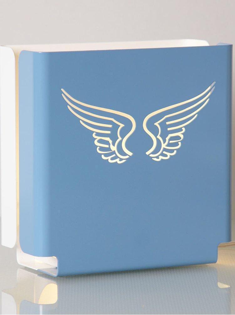 Modré dizajnové svetlo molight classic Angel