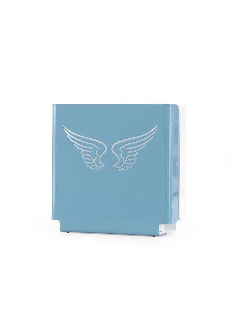Modré designové světlo molight classic Angel