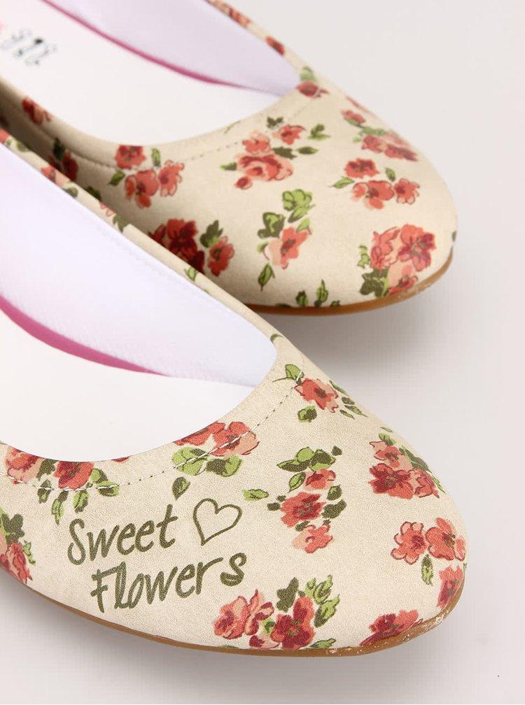 Kvetované baleríny Dogo Sweet Flowers
