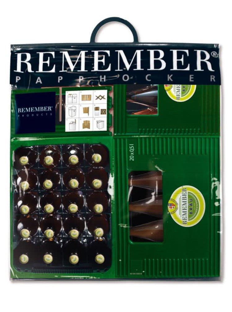 Taburet pliabil Remember Braumeister pentru iubitorii de bere