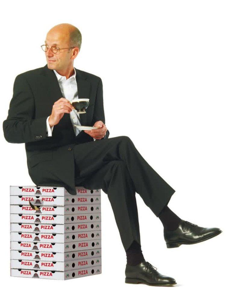 Skladacia stolička pre milovníkov pizze Remember Margherita