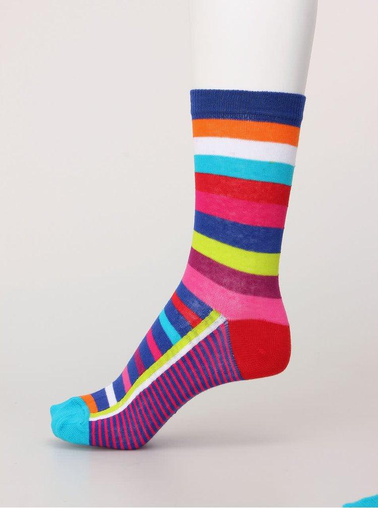 Sada šesti barevných dámských ponožek se vzory Oddsocks Kandy