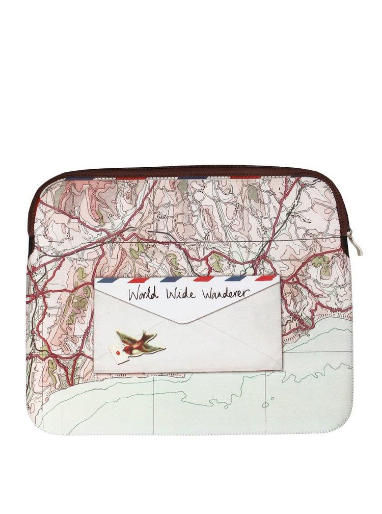 Obal na notebook Paper Plane od Disaster Designs