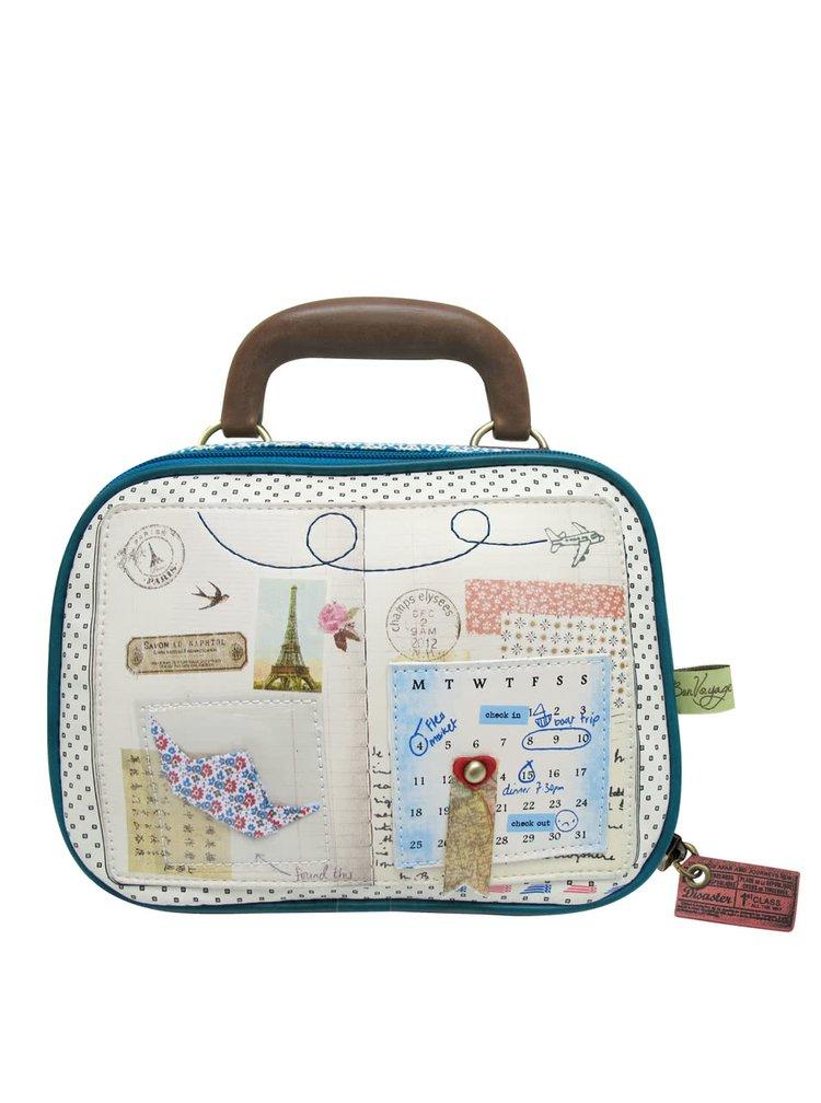 Kufřík na šminky Bon Voyage od Disaster Designs
