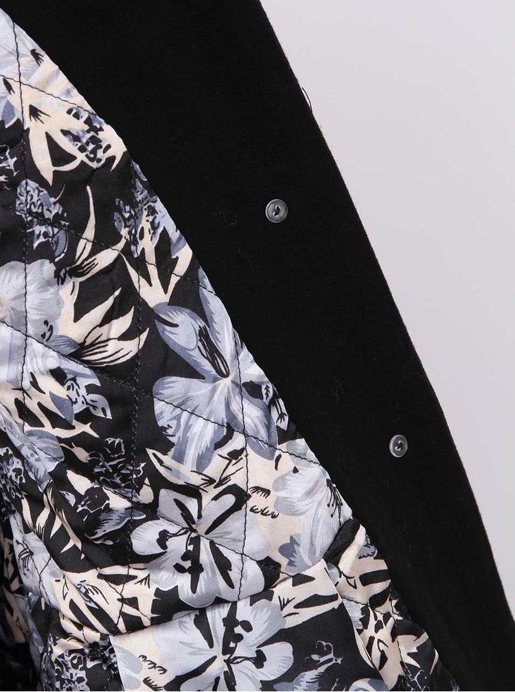 Jachetă neagră Fever London Iris Vintage