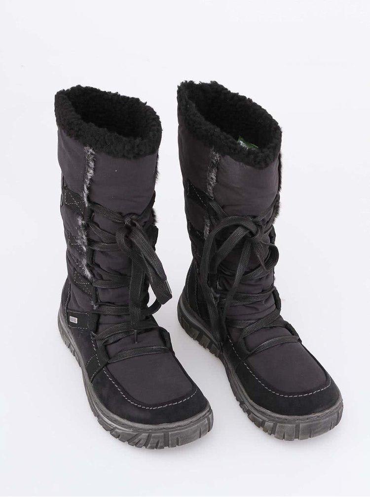 Cizme negre de iarnă Tamaris