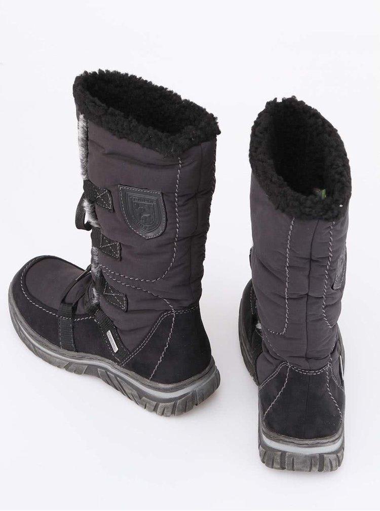 Cizme negre de iarna Tamaris