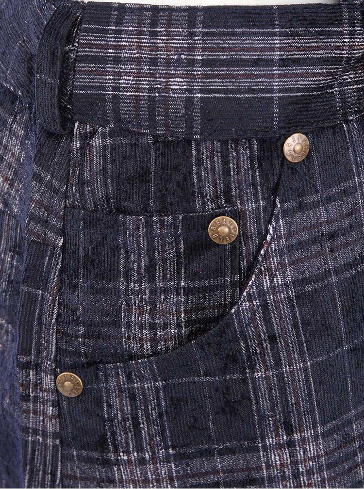 Pantaloni scurti de dama cu bretele bleumarin BELINSKI Bellfield