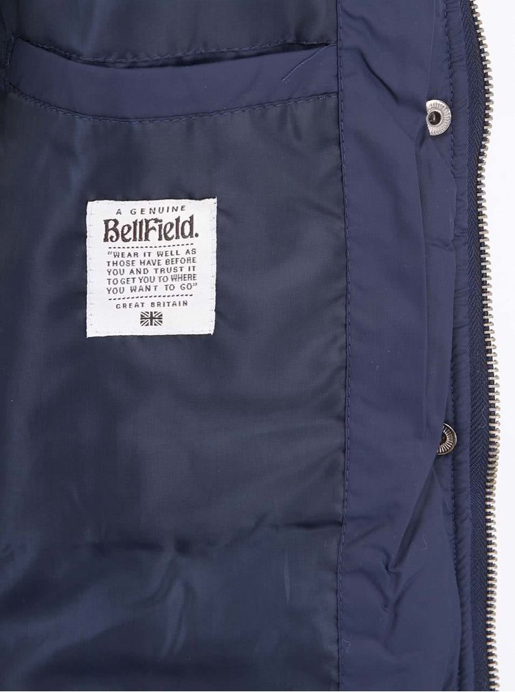 Jachetă de damă bleumarin cu căptușeală de blană Bellfield ROVO