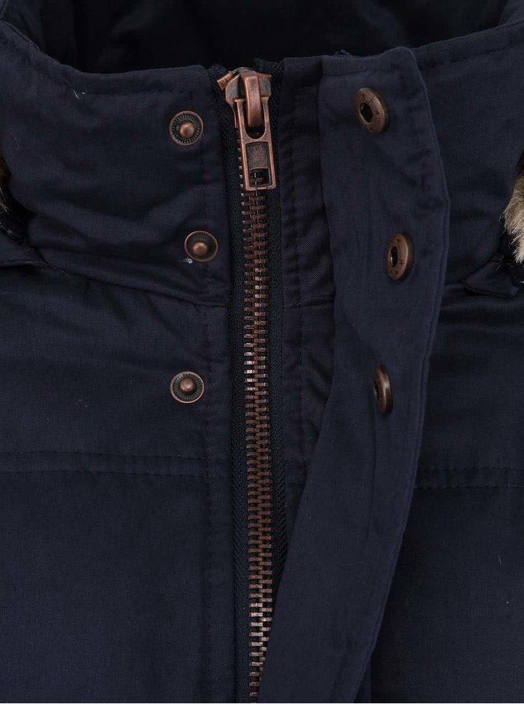 Tmavě modrá bunda s kožichem !Solid Gerrards