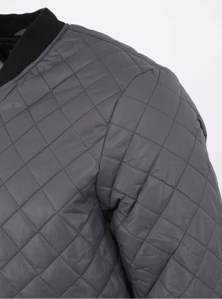 Sivá prešívaná bunda !Solid Dayton
